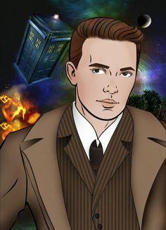 """Wil Wheaton as Wesley Crusher as David Tennant as """"the Doctor"""" #WesleyCrusherEvolved"""
