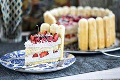 Gyümölcsös charlotte torta | Street Kitchen