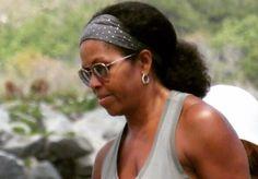 Michelle Obama Wears Natural Hair And The Internet Goes Wild - Sets New Trends Like Nicki Minaj And Kim Kardashian #MichelleObama celebrityinsider.org #Politics #celebrityinsider #celebritynews #celebrities #celebrity