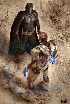 Batman vs Ironman