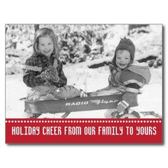 Vintage Holiday Wagon Kids Postcards