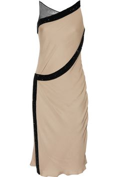 Amanda Wakeley Crystal-embellished silk dress  but then again its not.