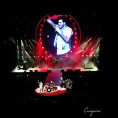 """Queen + Adam Lambert #queen #adamlambert #saopaulo #saopauloestado #brazil #brasil"""