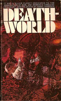 Deathworld, book cover