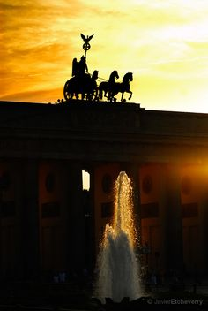 """Brandenburg Gate """"Brandenburger Tor"""" in Berlin Germany"""