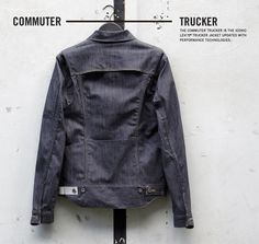 Levi's new Commuter Collection, designed for city cyclists.