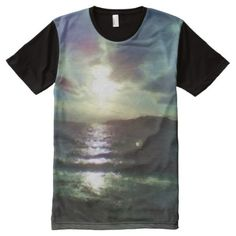 Photo of nature and rainbow with oil paint effect All-Over-Print shirt - Visually Stunning Graphic T-Shirts By Talented Fashion Designers - Oil Paint Effect, Types Of T Shirts, Beach T Shirts, Paint Effects, Stylish Shirts, S Shirt, Nature Photos, Printed Shirts, Shirt Designs