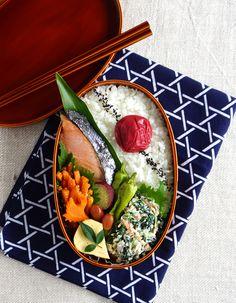 Salted Salmon Bento