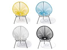 Mocka Adult Acapulco Lounge Chairs are a stylish and comfortable way to brighten up your home!