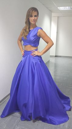 dança com as estrelas 2 Cristina Ferreira, Ball Gowns, Formal Dresses, Style, Fashion, Little Princess, Olive Tree, Stars, Stuff Stuff