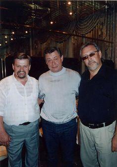 Андрей Елецкий с Николаем Караченцовым (Дни культуры Свердловской обл. в Москве)