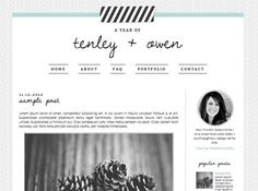 Blogger Template Blog Template Blog Design  by DesignerBlogs