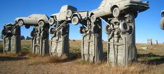 5 Roadside curiosities in the USA! Roadtrip on Route 66 required!