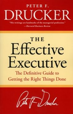 The Effective Executive: The Definitive Guide to Getting the Right Things Done (Harperbusiness Essentials) von Peter F. Drucker http://www.amazon.de/dp/0060833459/ref=cm_sw_r_pi_dp_HtFHvb097KMCJ