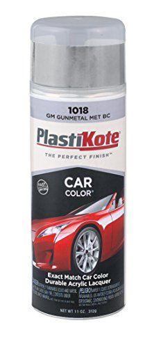PlastiKote 1018 GM Gunmetal Metallic Base Coat Automotive TouchUp Paint  11 oz >>> For more information, visit image affiliate link Amazon.com