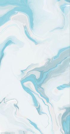 Marble Blue Wallpaper
