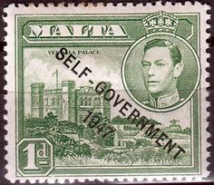 Malta 1948 King George VI Self Government SG 236 Fine Used SG 236 Scott 210  Other Stamps of Malta HERE
