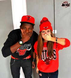Chicago bulls...love their sweaters