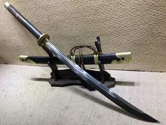 Sabers sword,High carbon steel burn blade,Brass fittings,Black scabbard