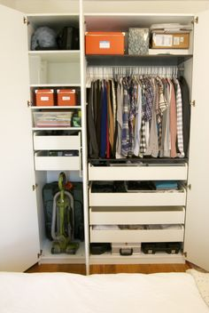 Ikea Wardrobe: Interior Organization Would Like 2 Of These In The Master Br