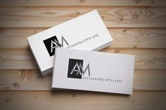AM logo and business card design by SammyJackles