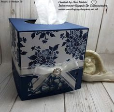 Hi Everyone, Thank you for visiting my blog Today. I hope you are all well and enjoying my makes. Today my project is a stunning Tissue bo...