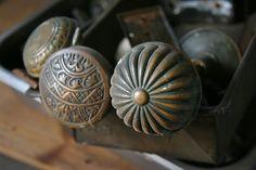 Antique Door Knobs from Nessy Designs