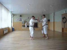Goju Ryu Karate blocking punch drills - YouTube
