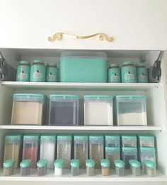 Best Snap Shots teal kitchen decor Thoughts By using summertime coming to an end, you should commence taking into consideration the tumble season. Mint Kitchen, Green Kitchen Decor, Home Decor Kitchen, Kitchen Design, Tiffany Blue Kitchen, Turquoise Kitchen, Blue White Kitchens, Coffee Bars In Kitchen, Organizer