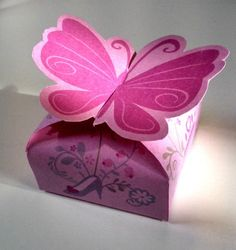 boite papillon printable