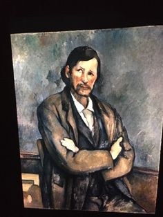 "Paul Cezanne ""Clockmaker"" French Post-impressionism 35mm Art Slide  