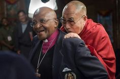 Desmond Tutu and HH the Dalai Lama have been close friends for many years. Together they are absolutely hysterical.