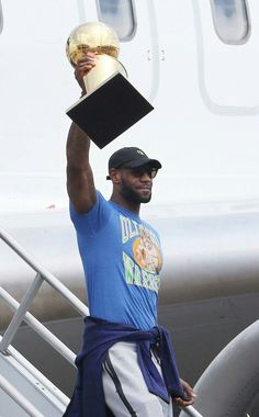 "Lebron James brings ""it"" home."