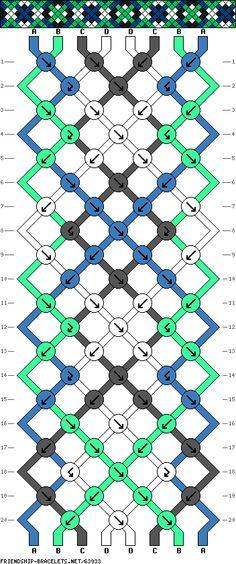 8 strings 20 rows 4 colors