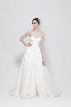 perfect. #wedding #dress