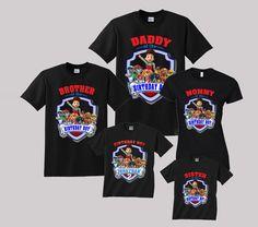 Paw Patrol Birthday Shirt Custom Personalized By TeezGallery