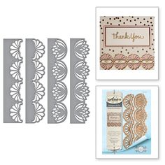 S4-703 Graceful Fans Card Creator Amazing Paper Grace by Becca Feeken Etched Dies