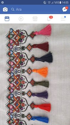 Embroidery Sampler, Ribbon Embroidery, Embroidery Stitches, Embroidery Patterns, Crochet Patterns, Cross Stitch Geometric, Cross Stitch Borders, Cross Stitching, Cross Stitch Patterns