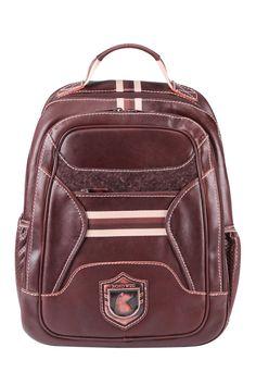 Leather rucksack for laptop Nordweg... Mochila para portátil de cuero Nordweg...