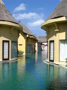 Bali ... so I'm guessing you can just jump right into the water from your room??