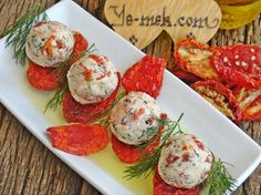 How to cook Dried Tomato Cheese Balls Recipe? You can easily make Dried Tomato Cheese Balls Recipe. Appetizer Salads, Appetizer Recipes, Snack Recipes, Cooking Recipes, Cheese Ball Recipes, Cream Cheese Recipes, Pasta Recipes, Tomato And Cheese, Food Decoration