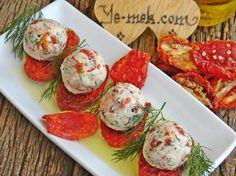 Kuru Domatesli Peynir Topları Tarifi (Resimli Anlatım) | Kolay ve Pratik Resimli Yemek Tarifleri | Göbeğim