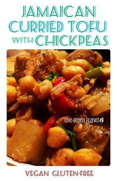 http://onegr.pl/1vMhAaQ #vegan #vegetarian #jamaican #curry #tofu #chickpeas #glutenfree