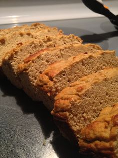 Granny's Protein Loaf: 3 scoops whey of choice, 3/4C rolled oats, 1 1 ...