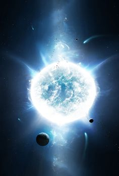 NOT a nebula. More like a magnetar or neutron star. In any case, beautiful image.