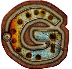 CH.B *✿* Alfabeto metal oxido..G