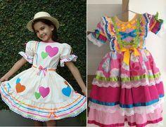 Roupa infantil para festa junina para menino ou menina