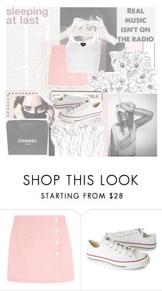 """""""It was great at the very start hands on each other"""" by happinesspeaceandlove ❤ liked on Polyvore featuring GET LOST, Chanel, Converse, Topshop and polyvoreeditorial"""