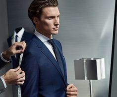 Shaun DeWet for Hugo Boss Made to Measure FW 2015 Campaign