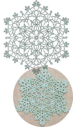 Best 12 Offset-snowflake Lace Crochet Motifs / 눈송이 모티브도안 – Page 838021443135968910 – SkillOfKing. Crochet Coaster Pattern, Crochet Snowflake Pattern, Crochet Motif Patterns, Crochet Stars, Crochet Circles, Crochet Snowflakes, Crochet Mandala, Crochet Diagram, Thread Crochet